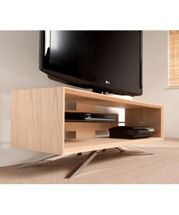 Techlink AA110LW - Stolik pod telewizor, jasny dąb