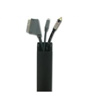 Sonorous CC 100 BLACK - Maskownica kabli, długość 106 cm, czarny mat