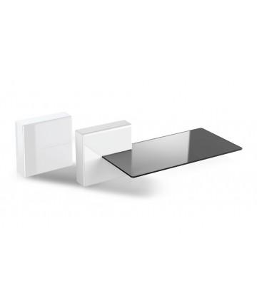 Meliconi Ghost Cubes COVER Shelf - Półka ścienna z serii Ghost, biała max. 3kg