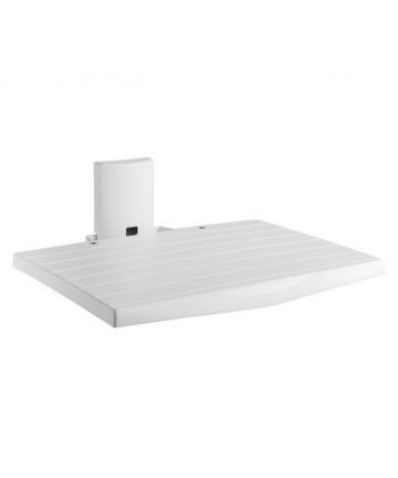 Meliconi SLIM STYLE AV SHELF - Półka pod sprzęt, 30x38, biała