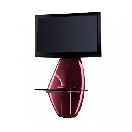 Meliconi GHOST DESIGN 500 - Panel ścienny z uchwytem do LCD, czerwony