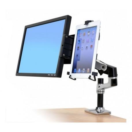 Ergotron LX DESK MOUNT TABLET (45-241-026 Cradle) - Uchwyt do monitora i tableta