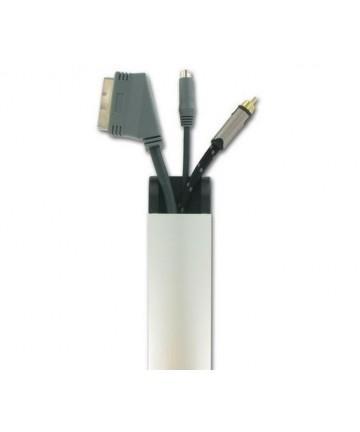 Sonorous CC50 SILVER - Maskownica kabli, długość 50 cm, aluminium