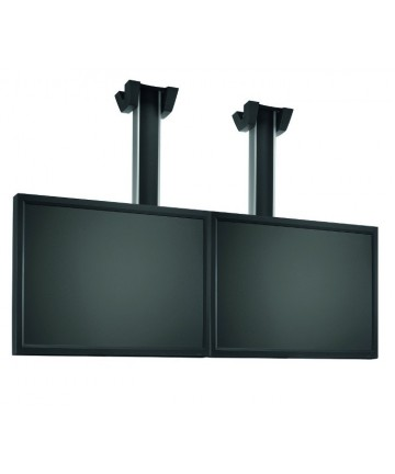 """Vogel's CONNECT-IT LARGE 2x1 - Uchwyt sufitowy na 2 ekrany 50-65"""", max 160 kg. Długość 150-300cm"""