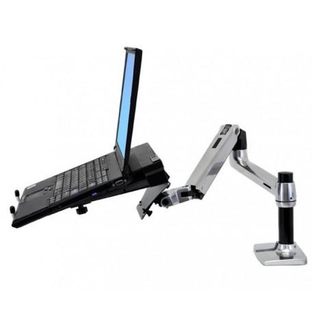 Ergotron LX DESK MOUNT Note - Uchwyt biurkowy do laptopa. Ramie obrotowe o długości 65 cm