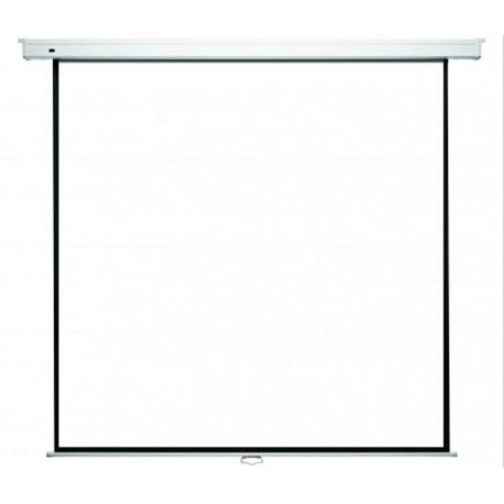 Kauber Econo Wall 200 x 200 cm - Ręcznie rozwijany ekran projekcyjny