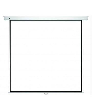 Kauber Econo Wall 244 x 244 cm - Ręcznie rozwijany ekran projekcyjny