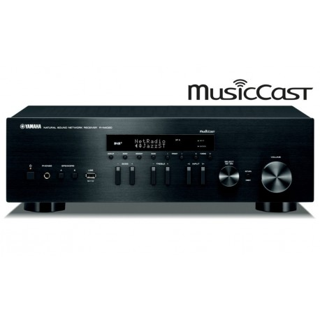 Yamaha R-N402D - Amplituner Sieciowy z MusicCast i Radiem Cyfrowym DAB+