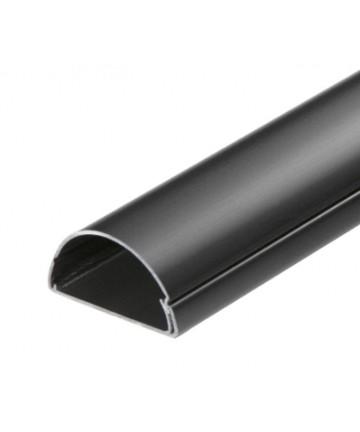 D-Line 5025B - Maskownica kabli / kanał kablowy, długość 100 cm, czarna