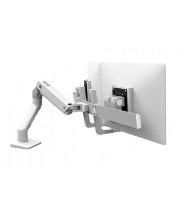 """Ergotron HX Dual Desk Mount - Uchwyt do 2 monitorów max. 32"""" i wadze 4,6-15,8 kg, kolor biały"""