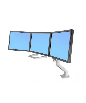 """HX Triple Desk Mount - Uchwyt do 3 monitorów max. 24"""" i wadze 3-13 kg biały Katalog Produkty"""