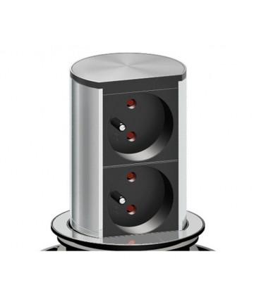 Bachmann ELEVATOR 020 - Listwa zasilająca z 2 gniazdami USB 3.0.
