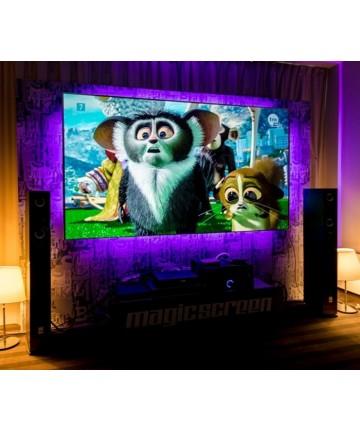 MagicScreen FUTURE  - Ekran o wysokim kontraście z opcją podświetlenia LED
