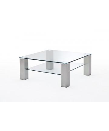 MCA ASTA - Stolik szklany, 90x90 cm