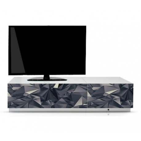 Multimebel B52 G - Zestaw mebli RTV, grafika, szerokość 164 cm
