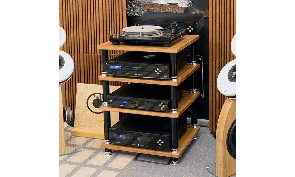 Norstone Design Stabbl Hifi Bamboo Regał Na Sprzęt Audio