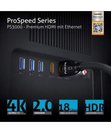 PureLink ProSpeed PS3000-010 - kabel HDMI PREMIUM 4K/UHD HDR 18Gbps 1,0m