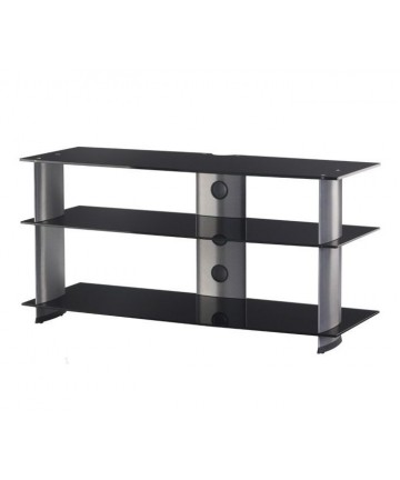 PLASMA PL3100 B-BLK - Stolik pod telewizor, 37-50 cali, czarny