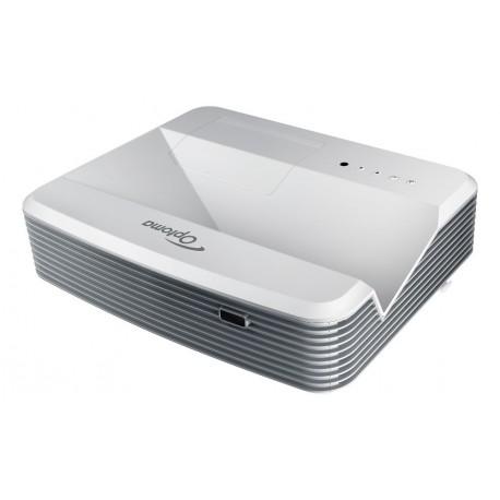 Optoma W320UST - Ultra krótkoogniskowy projektor XGA o jasności 4000 lm