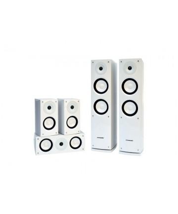 Pure Acoustits NOVA 6 WHITE - Zestaw głośników 5.0, biały