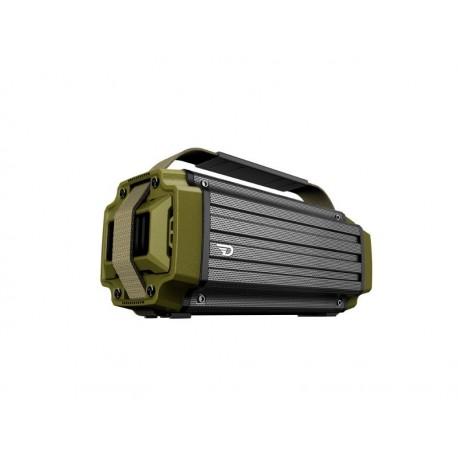 DreamWave TREMOR GREEN - Głośnik bezprzewodowy, bluetooth, bank energii, 50W