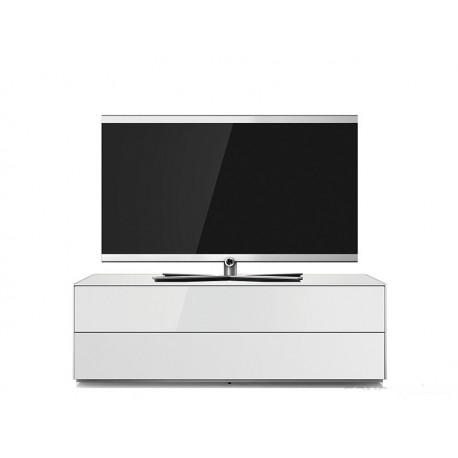 "Sonorous EX-10FF - Szafka pod TV, 42""-60"", biały, 2 klapy w dół"