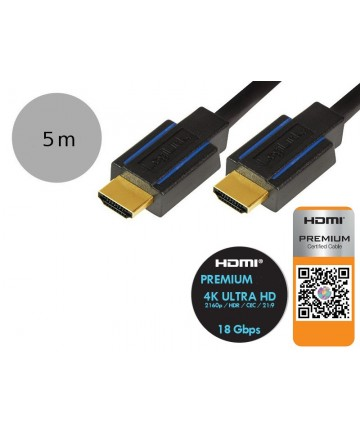LogiLink CHB007 - Kabel HDMI PREMIUM, długość 7.5 m