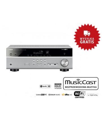 Yamaha MusicCast RX-V485 tytan - Amplituner AV