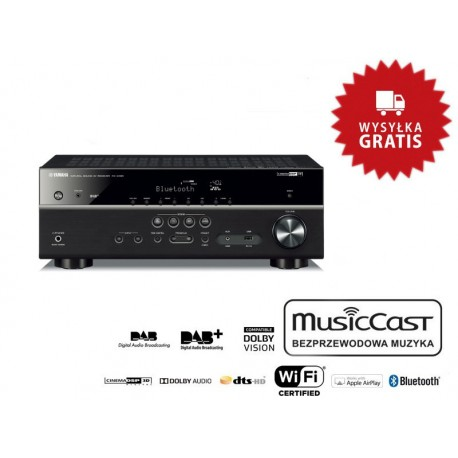 Yamaha MusicCast RX-D485 - Amplituner AV