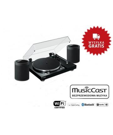 Yamaha VINYL500 + WX-021 - Gramofon + głośniki bezprzewodowe, wysyłka 0zł