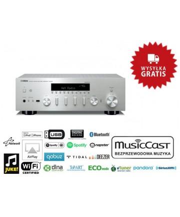 Yamaha R-N602 tytan - Amplituner stereo, wysyłka 0zł