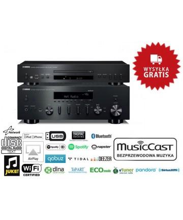 Yamaha R-N602 + CD-S300 - Zestaw amplituner stereo + odtwarzacz CD, wysyłka 0zł