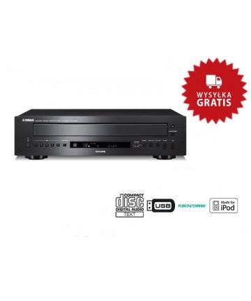 Yamaha CD-C600 black - Odtwarzacz płyt CD, zmieniarka 5 płyt, wysyłka 0zł