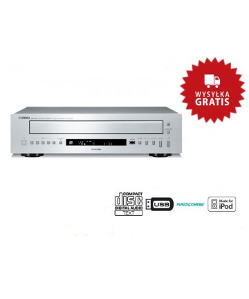 Yamaha CD-C600 tytan - Odtwarzacz płyt CD, wysyłka 0zł