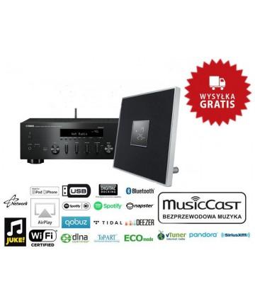 Yamaha MusicCast R-N602 + ISX-80 - Zestaw