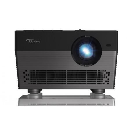 Optoma UHL55 - Przenośny projektor 4K do kina domowego z funkcją sterowania głosem