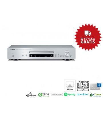 Yamaha CD-N301 silver - Sieciowy odtwarzacz CD/SAC, wysyłka 0zł