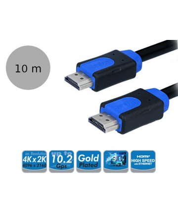 LogiLink CHB1110 - Kabel HDMI High Speed with Ethernet, długość 10 metrów