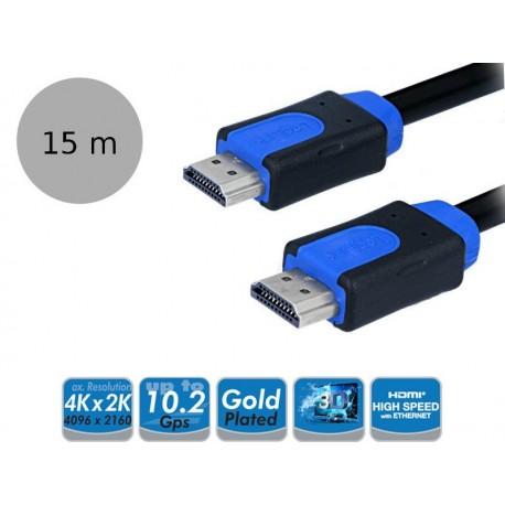LogiLink CHB1115 - Kabel HDMI High Speed with Ethernet, długość 15 metrów