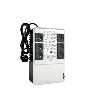 Legrand 310083 - Jednofazowy UPS, Multiplug 600VA