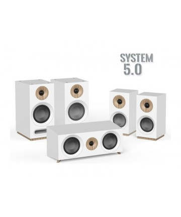 Jamo S803 HCS WHITE - Zestaw głośników 5.0, biały