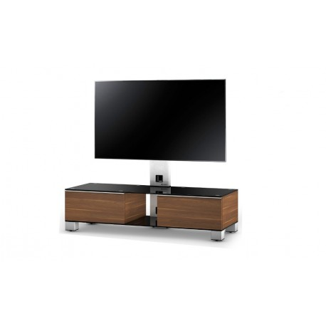 Sonorous MD8120WOOD-B-INX-WNT - Stolik z uchwytem do telewizora, VESA max. 600x400