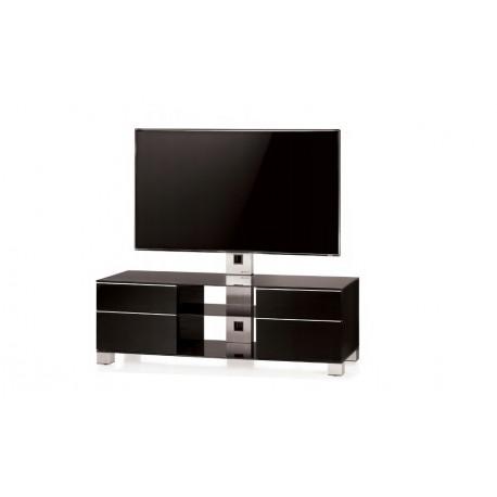 Sonorous MD8340 HG-B-INX-BLK - Stolik z uchwytem do telewizora, VESA max. 600x400