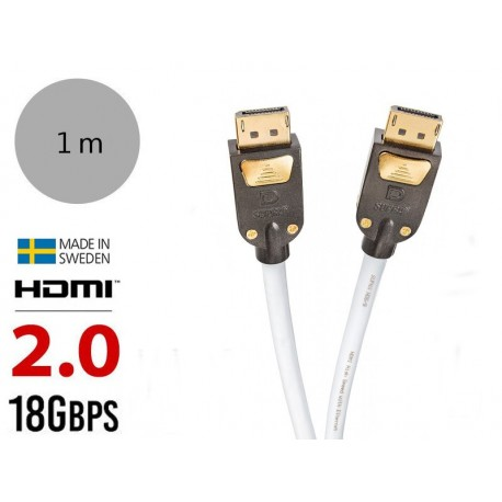Supra HDMI-HDMI/S 1M - Kabel High Speed HDMI with Ethernet