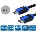 LogiLink CHB1110 - Kabel HDMI 1.4, 2K4K, 10Gb, 10 metrów