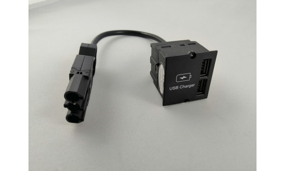 Bachmann 2xUSB Double Charger Moduł podwójna ładowarka USB