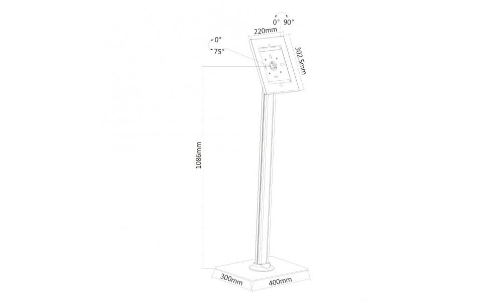 newstar-tablet-s300white-stojak-podlogow