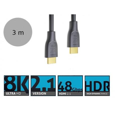 Sonero X-PHC110-030 - Kabel Premium HDMI 2.1