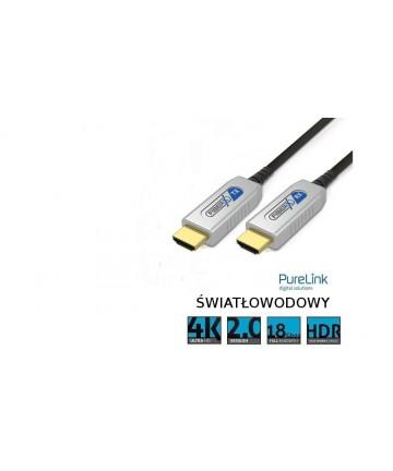PureLink FX-I1350-500 - Światłowodowy kabel HDMI AOC, długość 50 metrów, wysyłka 0zł