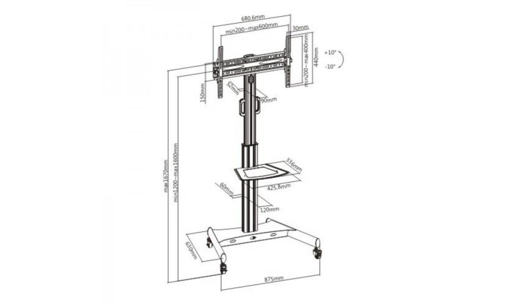 vivolink-vlfs3266c-stojak-mobilny-do-tv-